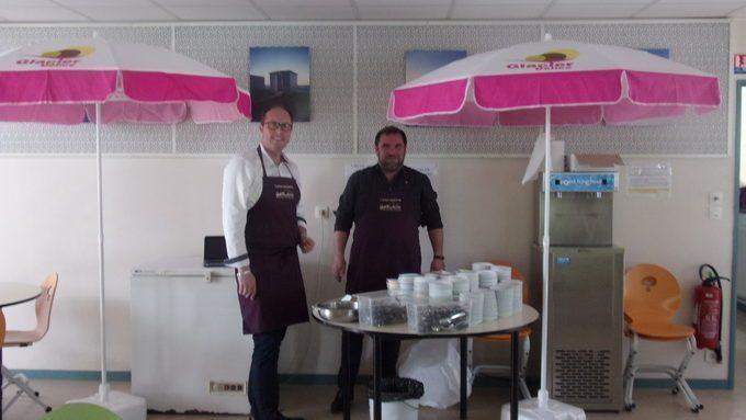 Dégustation de glaces !!!
